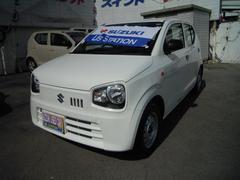 沖縄の中古車 スズキ アルト 車両価格 60万円 リ済別 平成29年 0.4万K スペリアホワイト