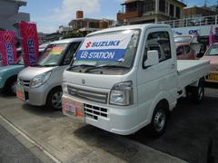 沖縄の中古車 スズキ キャリイトラック 車両価格 83.1万円 リ済別 平成29年 0.1万K スペリアホワイト