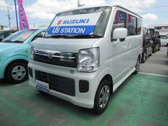 沖縄の中古車 スズキ エブリイワゴン 車両価格 128万円 リ済別 平成29年 1.0万K パールホワイト