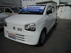 沖縄の中古車 スズキ アルト 車両価格 69万円 リ済別 平成29年 0.6万K スペリアホワイト