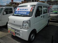 沖縄の中古車 スズキ エブリイ 車両価格 89万円 リ済別 平成29年 0.2万K スペリアホワイト