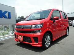 沖縄の中古車 スズキ ワゴンR 車両価格 130万円 リ済別 平成29年 0.5万K ピュアレッド