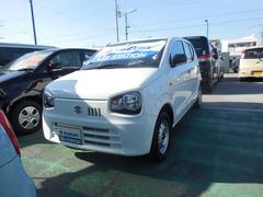 沖縄の中古車 スズキ アルト 車両価格 62万円 リ済別 平成29年 0.4万K スペリアホワイト