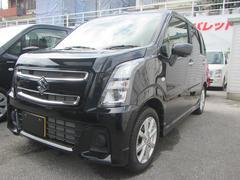 沖縄の中古車 スズキ ワゴンR 車両価格 135万円 リ済別 平成29年 0.5万K ブルーイッシュブラックパール3