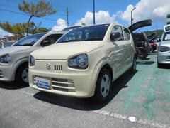 沖縄の中古車 スズキ アルト 車両価格 75万円 リ済別 平成29年 1.1万K シフォンアイボリーメタリック