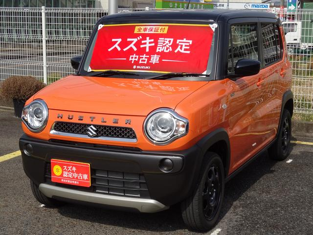 スズキ Fリミテッド 2型 自動ブレーキ HID付 元試乗車