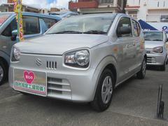 沖縄の中古車 スズキ アルト 車両価格 69万円 リ済別 平成29年 1.3万K シルキーシルバーメタリック