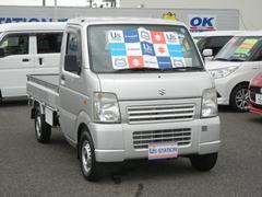 キャリイトラックKC エアコン・パワステ 4WD AT