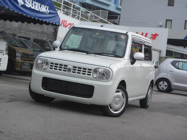 沖縄の中古車 スズキ アルトラパン 車両価格 75万円 リ済別 平成23年 3.6万km パールホワイト