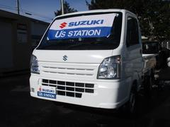 キャリイトラックKCエアコンパワステ 3型両席エアバックABSFMAMラジオ