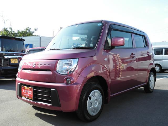 沖縄の中古車 スズキ MRワゴン 車両価格 65万円 リ済別 平成25年 3.4万km カシスピンクパールメタリック