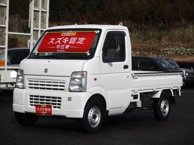 スズキ KC エアコン・パワステ 10型 4WD&5MT車