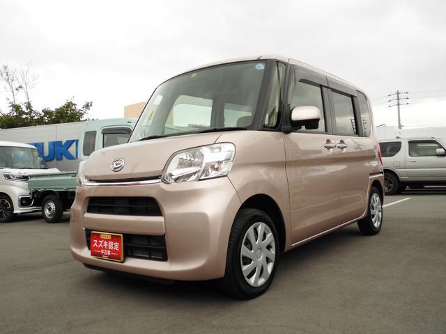 沖縄の中古車 ダイハツ タント 車両価格 95万円 リ済別 平成27年 6.9万km ピンク