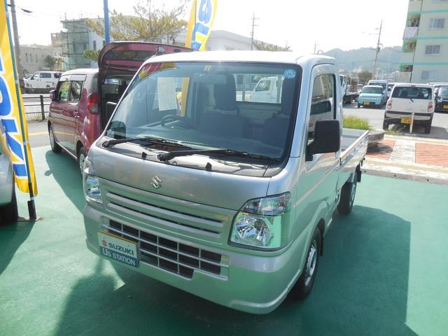 沖縄県の中古車ならキャリイトラック KC エアコン・パワステ 2型