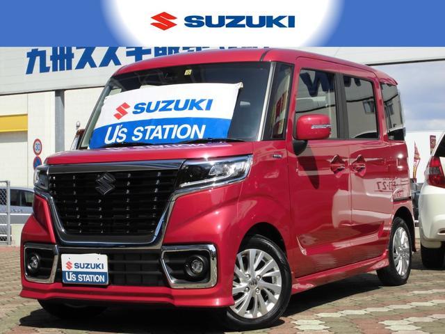 スズキ カスタム HYBRID GS ブレーキサポート機能・新車保証