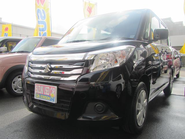 沖縄の中古車 スズキ ソリオ 車両価格 85万円 リ済別 2016(平成28)年 6.0万km スーパーブラックパール
