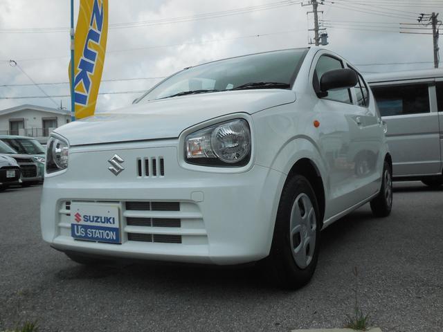 沖縄の中古車 スズキ アルト 車両価格 73万円 リ済別 2018(平成30)年 0.5万km スペリアホワイト