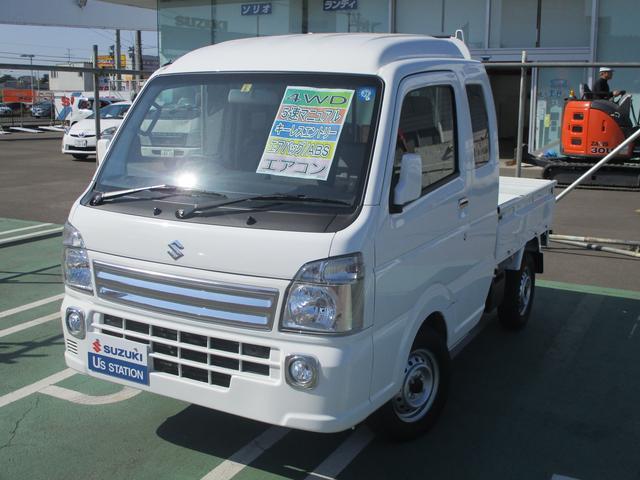 スーパーキャリイ X 5MT 4WD リクライニング可能(1枚目)