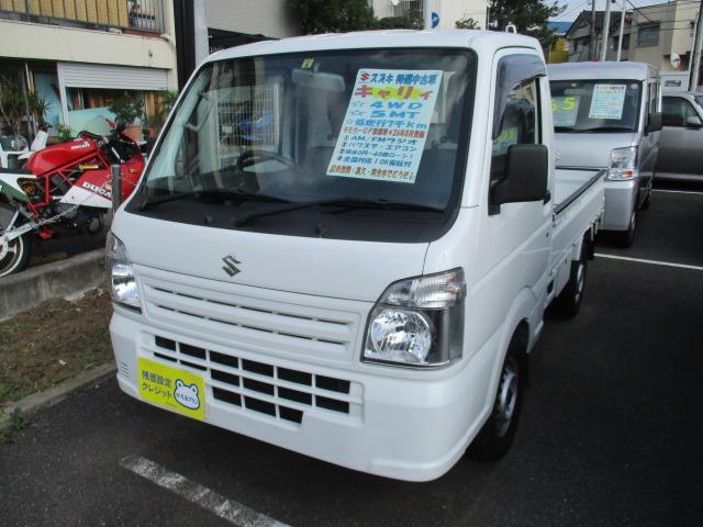 スズキ KC エアコン・パワステ ワンオーナー 4WD 5MT