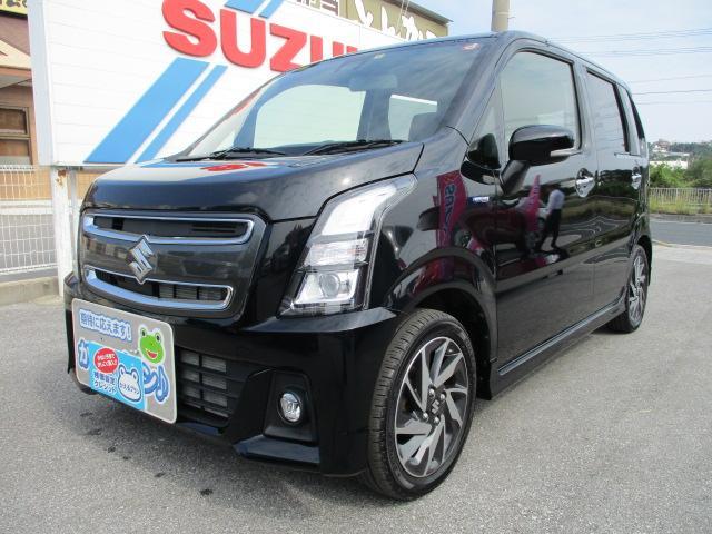 沖縄県の中古車ならワゴンRスティングレー スティングレー 25周年記念車 HYBRID Xリミテッド