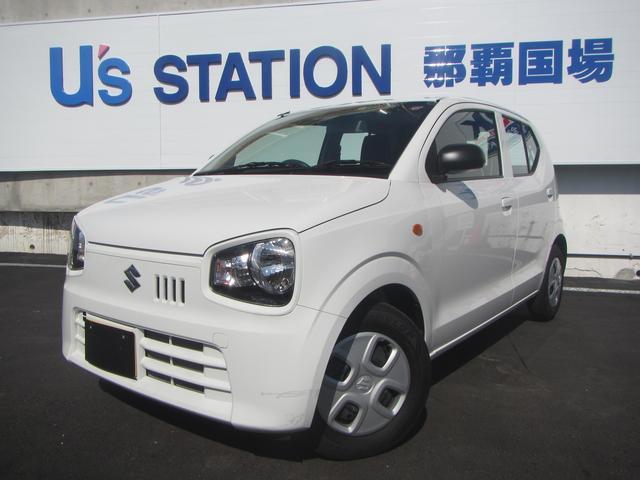 沖縄の中古車 スズキ アルト 車両価格 82.1万円 リ済別 2019(平成31)年 0.2万km ホワイト