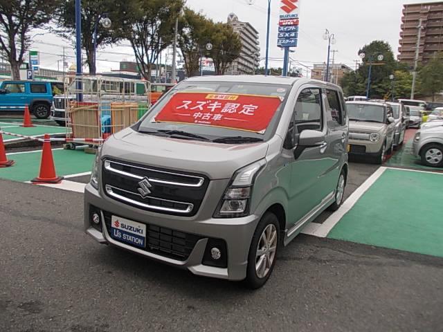 「スズキ」「ワゴンRスティングレー」「コンパクトカー」「兵庫県」の中古車
