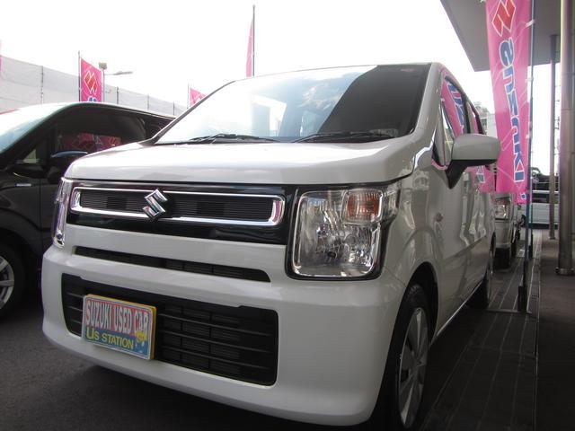 沖縄の中古車 スズキ ワゴンR 車両価格 89万円 リ済別 2018(平成30)年 0.6万km ホワイト