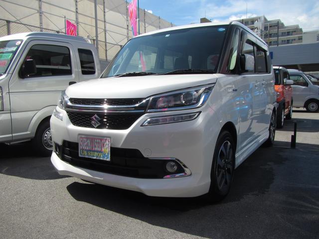 沖縄県浦添市の中古車ならソリオバンディット バンディット HYBRID MV