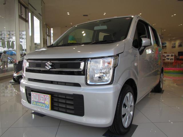 沖縄県浦添市の中古車ならワゴンR HYBRID FX