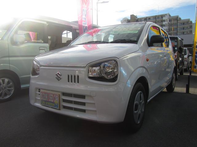 沖縄の中古車 スズキ アルト 車両価格 79万円 リ済別 2018(平成30)年 0.4万km ホワイト