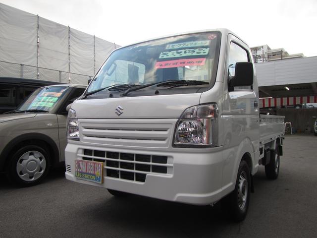 沖縄の中古車 スズキ キャリイトラック 車両価格 72万円 リ済別 2019(平成31)年 0.2万km ホワイト