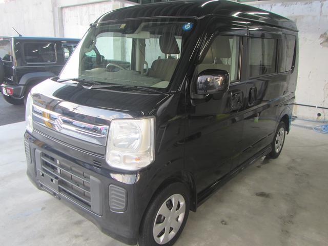 沖縄県の中古車ならエブリイワゴン JPターボ ハイルーフ