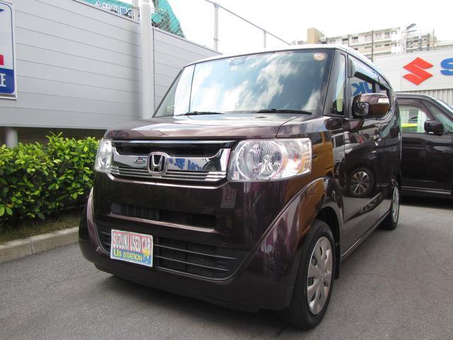 沖縄県浦添市の中古車ならN-BOXスラッシュ G