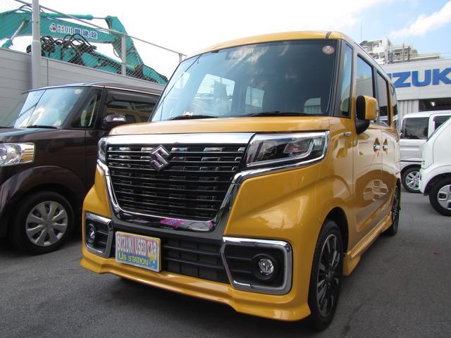 沖縄県浦添市の中古車ならスペーシアカスタム カスタム HYBRID XS
