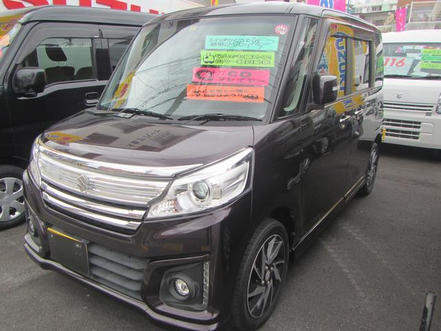 スペーシアカスタム:沖縄県中古車の新着情報