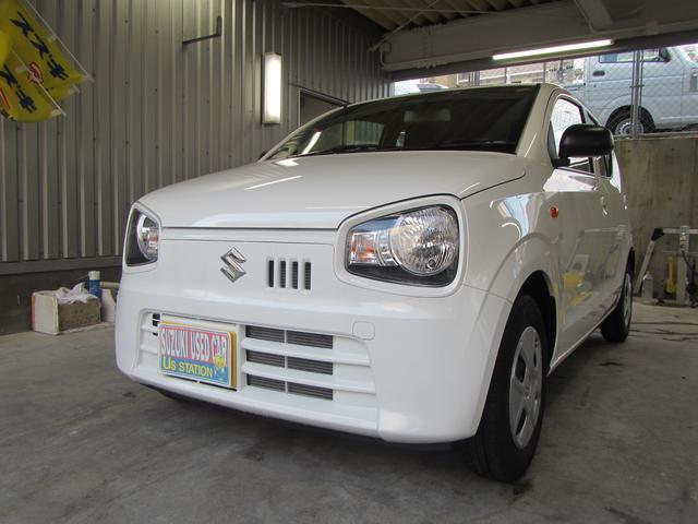 沖縄の中古車 スズキ アルト 車両価格 80万円 リ済別 2019(平成31)年 0.3万km ホワイト