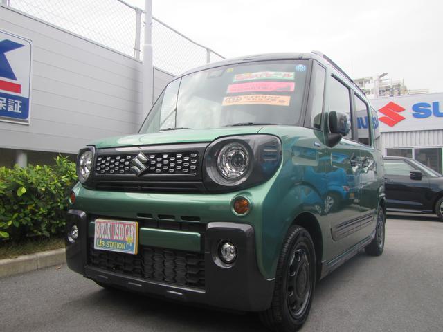 沖縄県の中古車ならスペーシアギア ギア HYBRID XZ