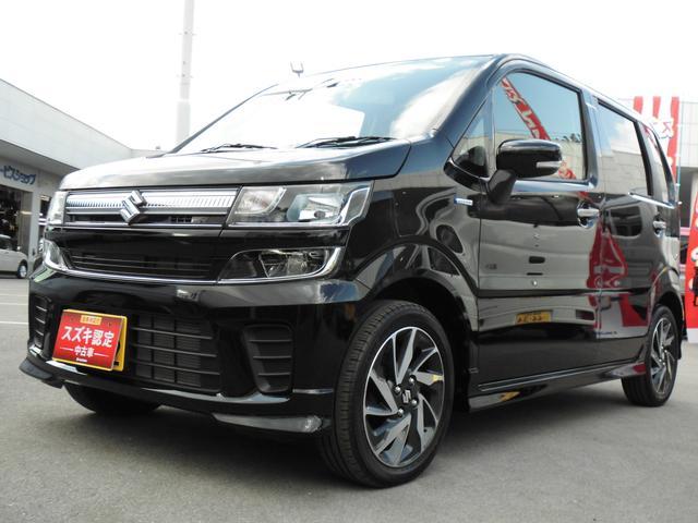 ワゴンR(沖縄 中古車) 色:ブルーイッシュブラックパール3 価格:127万円 年式:2019(平成31)年 走行距離:0.9万km