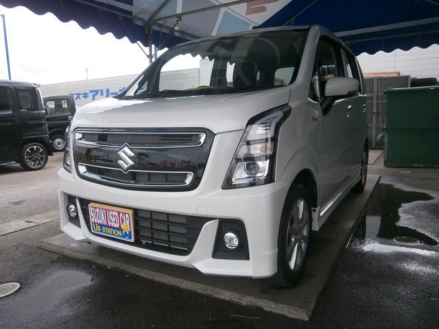 「スズキ」「ワゴンRスティングレー」「コンパクトカー」「沖縄県」の中古車