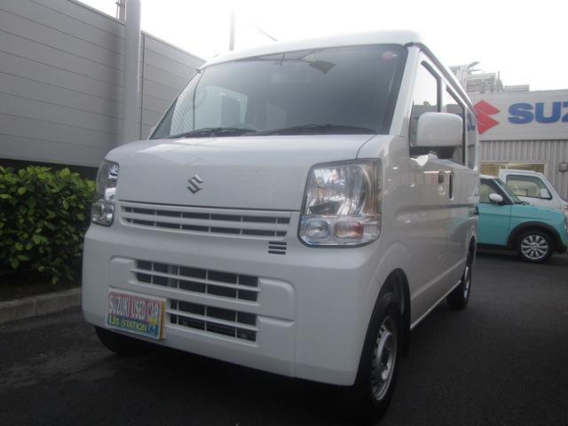 沖縄の中古車 スズキ エブリイ 車両価格 104.1万円 リ済別 2019(平成31)年 0.4万km ホワイト