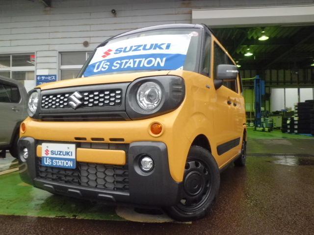 スズキ HYBRID XZ 4WD デュアルセンサーブレーキ