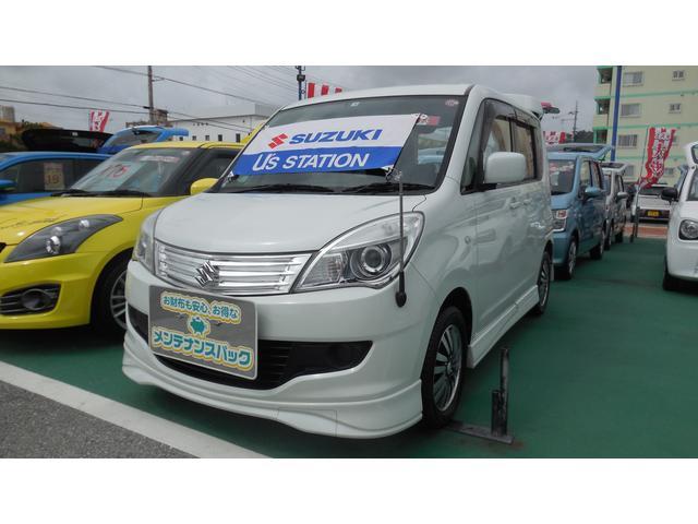 沖縄県の中古車ならソリオ X MA15S
