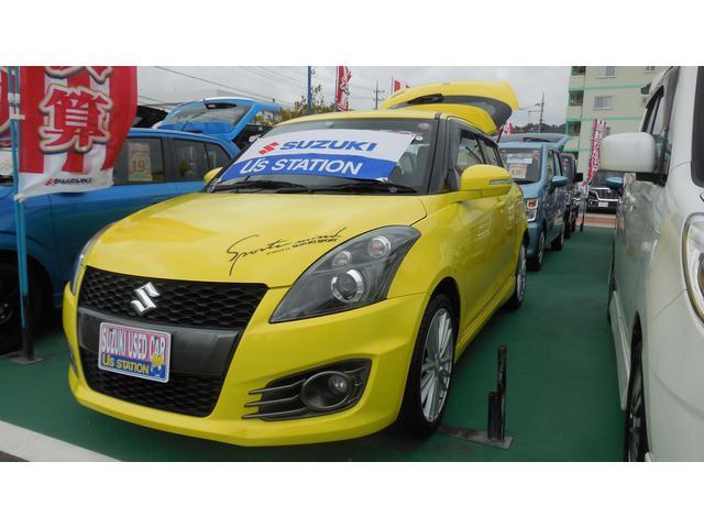 沖縄の中古車 スズキ スイフトスポーツ 車両価格 115.1万円 リ済別 2013(平成25)年 5.9万km チャンピオンイエロー4