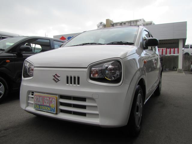 沖縄の中古車 スズキ アルト 車両価格 79万円 リ済別 2019(平成31)年 0.2万km ホワイト