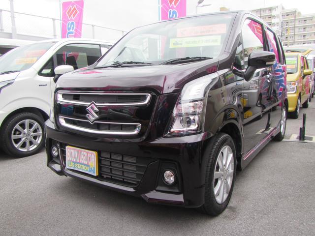 沖縄県浦添市の中古車ならワゴンRスティングレー スティングレー HYBRID X