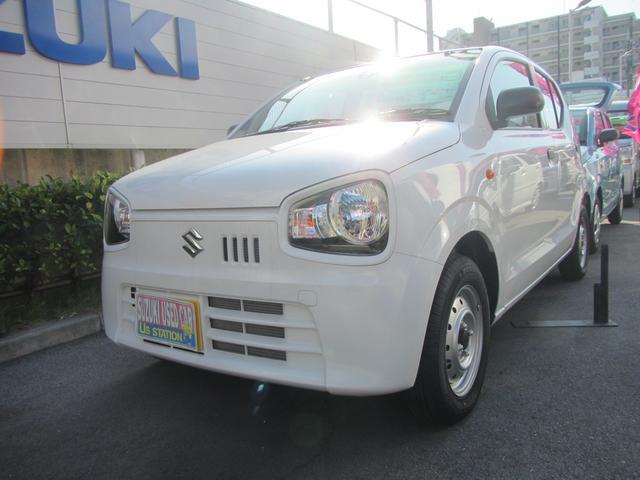 沖縄の中古車 スズキ アルト 車両価格 65万円 リ済別 2019(平成31)年 0.4万km ホワイト