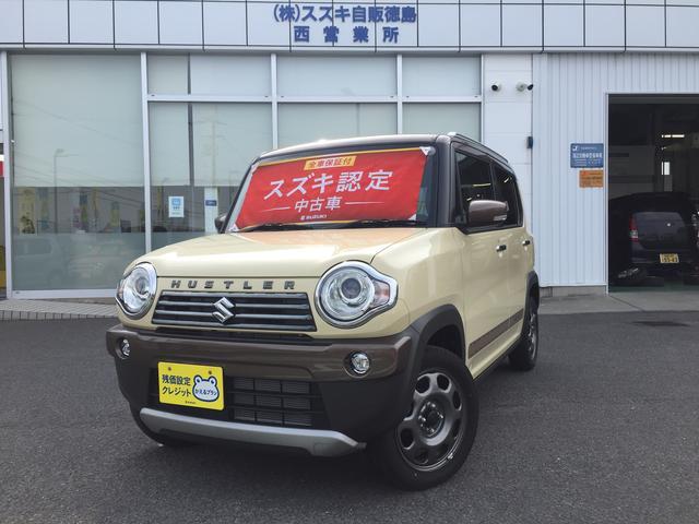 「スズキ」「ハスラー」「コンパクトカー」「徳島県」の中古車