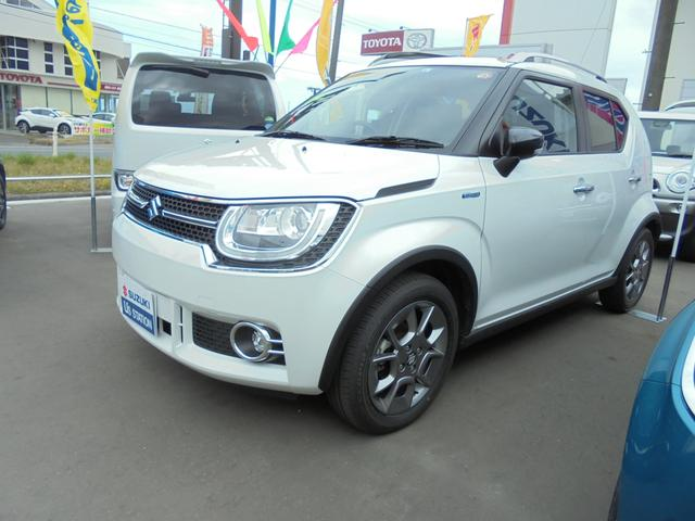 スズキ イグニス HYBRID Fリミテッド 4WD CVT  ピュアホワイト