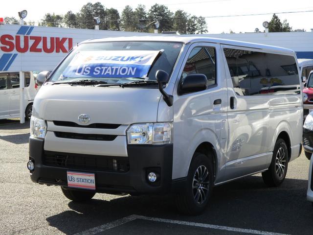 トヨタ ハイエースバン ロングDX ナビ ETC バックカメラ