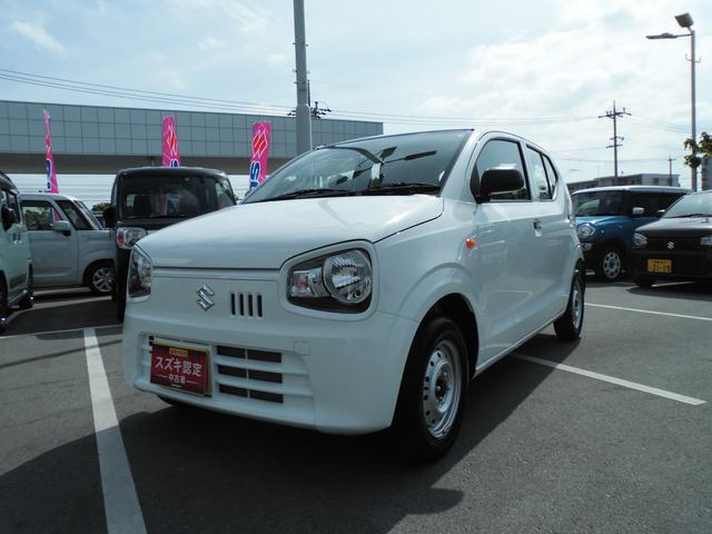 沖縄の中古車 スズキ アルト 車両価格 59万円 リ済別 2019(平成31)年 0.7万km ホワイト